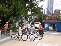 Start bicycle tour