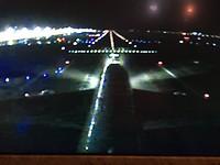 Landing in dubai