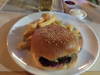 Kangaroo hamburger