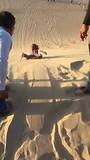 Sand boarding Fréderique