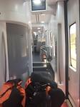 In trein