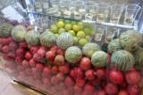 Mashad ligt op de zijderoute : de meloenenroute.