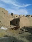 Citadel van Gooroosh bij Varzaneh