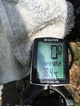 38°C als begin temperatuur