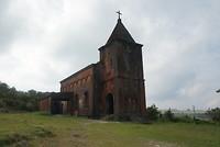 Christelijke kerk Bokor Hill