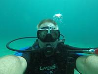 Selfie onderwater