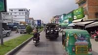 Even Phnom Penh uit fietsen