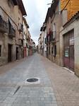 Typische smalle straatjes Los Arcos
