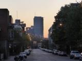 Uitzicht op downtown Montreal