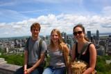 Uitzicht op Montreal