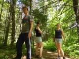 Eerste hike in Algonquin
