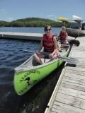 Kanoen op Lake Opeongo