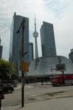 Toronto met uitzicht op de CN Tower