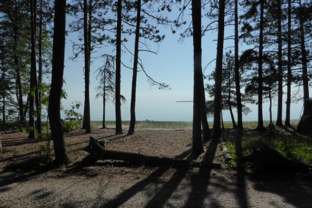 Camping Agawa Bay aan Lake Superior