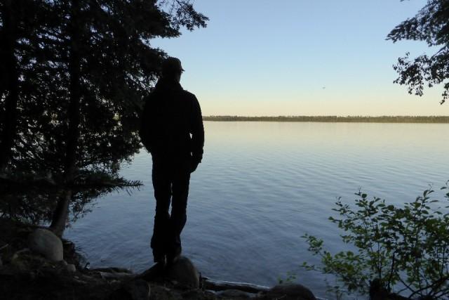 Uitzicht Marie Louise Lake