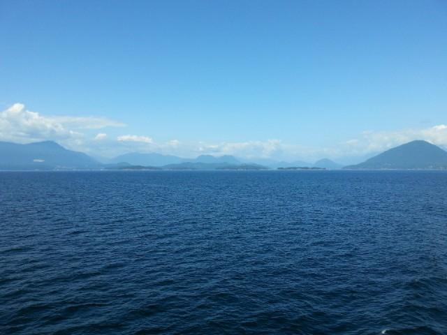 Met de boot naar Nanaimo