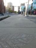 Blaadjes van beton