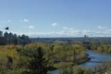 Uitzicht op de Rocky Mountains