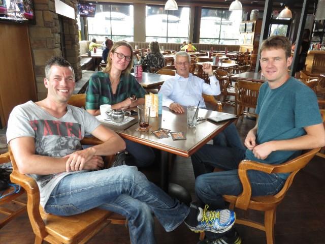 Aan het bier met Mark en zijn vader
