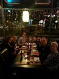 Sushi met familie van Dijk