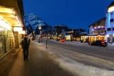Banff in de avond