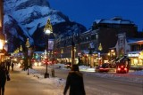 Kerstsfeer in Banff