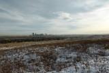 Uitzicht op Calgary vanaf Nosehill Park