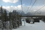 Uitzicht Lake Louise vallei