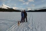 Familie portretje Malinge Lake