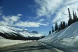Route terug naar Calgary