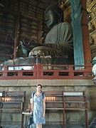 De reuzenboeddha voor mama ( of andersom?)