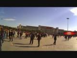 Tienanmen-plein en... mijn vrouw...