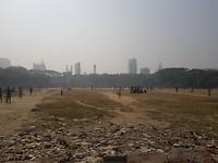in de vrije tijd wordt vaak cricket gespeeld (of gekeken)