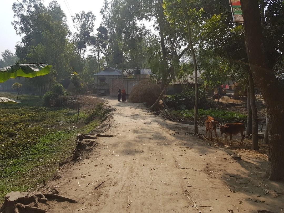 Onderweg naar een community in Gaibandha (Noordelijk Bangladesh)