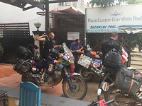 Traveling from Switzerland to Bangkok by motor