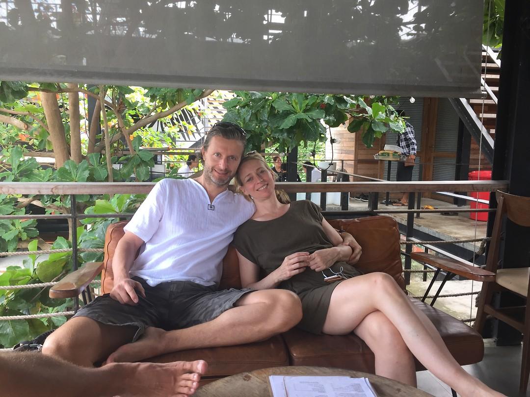 Family visit in Koh Tao