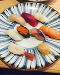 Omikase sushi at the world famous Sushi Iwa