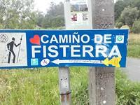 Die kant op:  Finesterra.