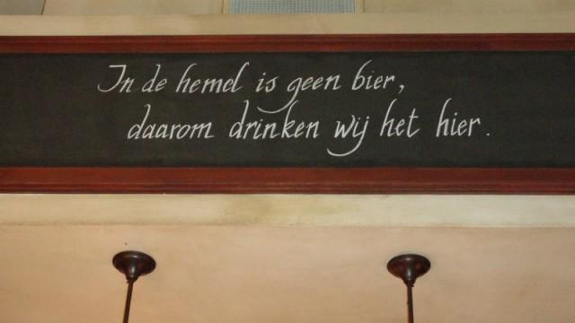 cafe spreuken Brabantse spreuk in het Belgische cafe in Wellington 3 | Foto  cafe spreuken