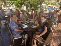 lunch met de familie van Ginneken