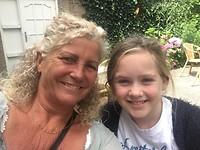 Genieten met mijn kleindochter
