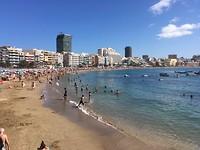 strand van Las Canteras