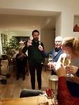 Kerstdiner in de Obrechtlaan