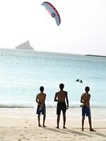 Kite Surfen in Mindelo