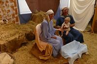 Een wandeling door Bethlehem in de Anglicaanse kerk in Mittagong