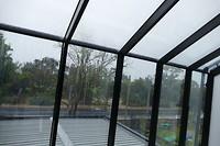 De hele dag regen!