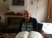 De dag is goed begonnen met de ontvangst van een foto van onze lieve moeder