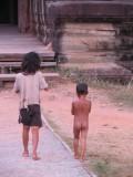 inwoners van het gebied van Angkor Wat