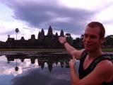 zonsondergang Angkor Wat