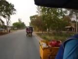 Plattelandstour op (Brom)fietstaxi